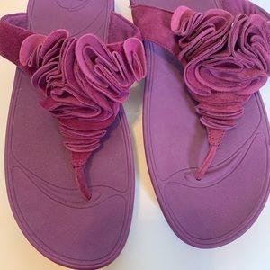 6d95ed5e79b3 Fitflop Shoes - Fitflop Frou Cosmic Purple Suede Sandal Sz 10 NWOT